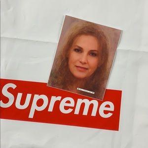 Supreme | Stormy Daniels Sticker